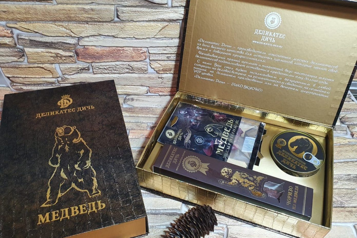 Подарочный набор-шкатулка «Хозяин леса»