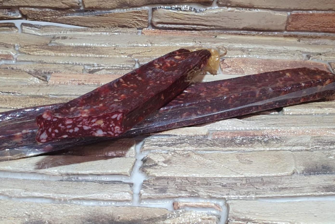 Колбаса сырокопченая с кедровым орехом (0,500 грамм)