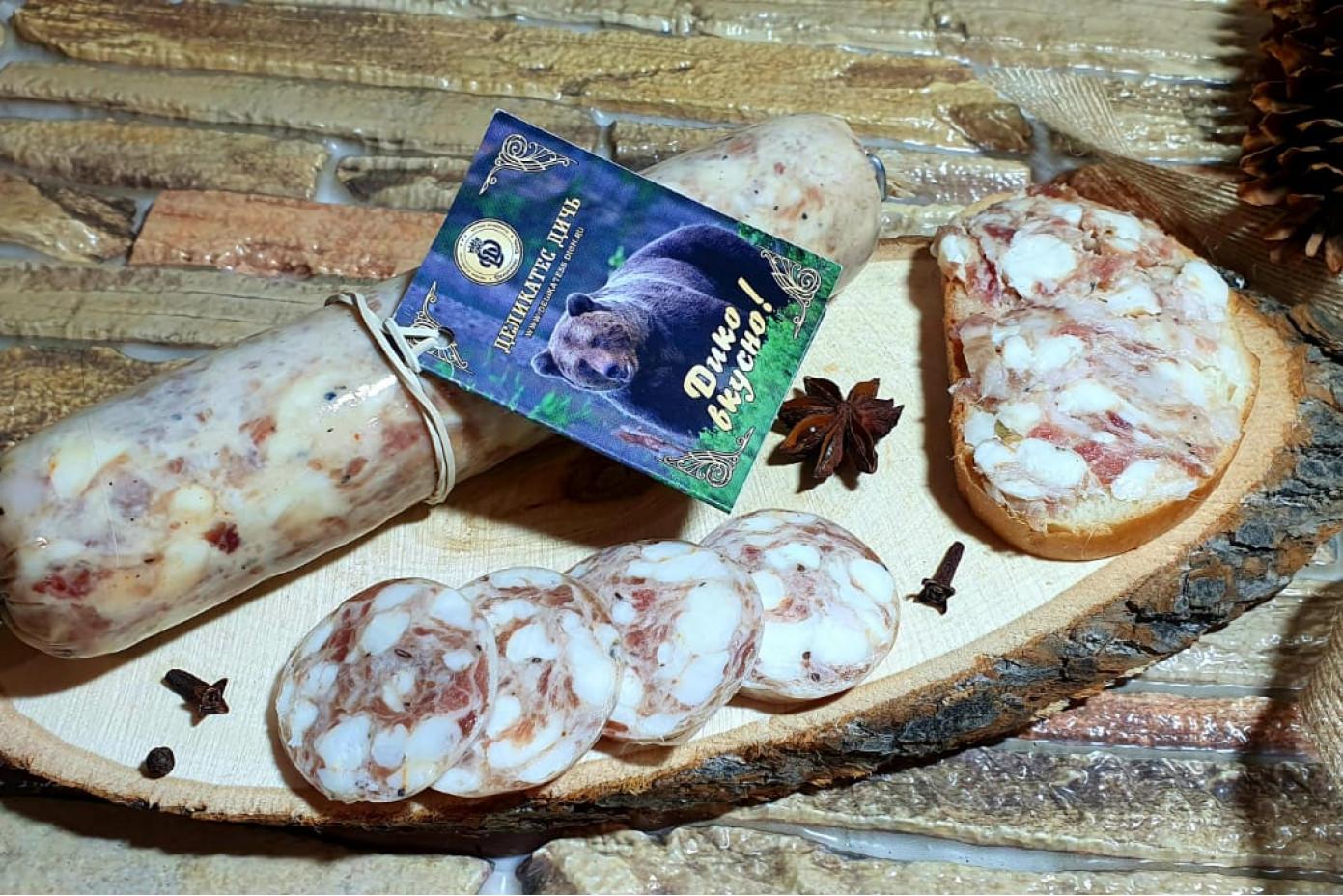 Смалец из шпика КАБАНА с паприкой и чесноком