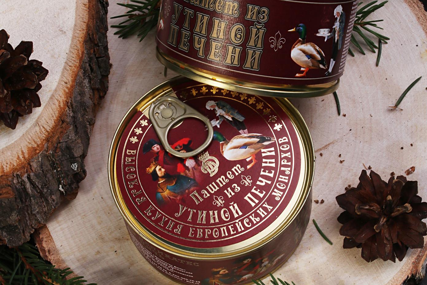 Паштет из утиной печени «Высокая кухня европейских монархов»