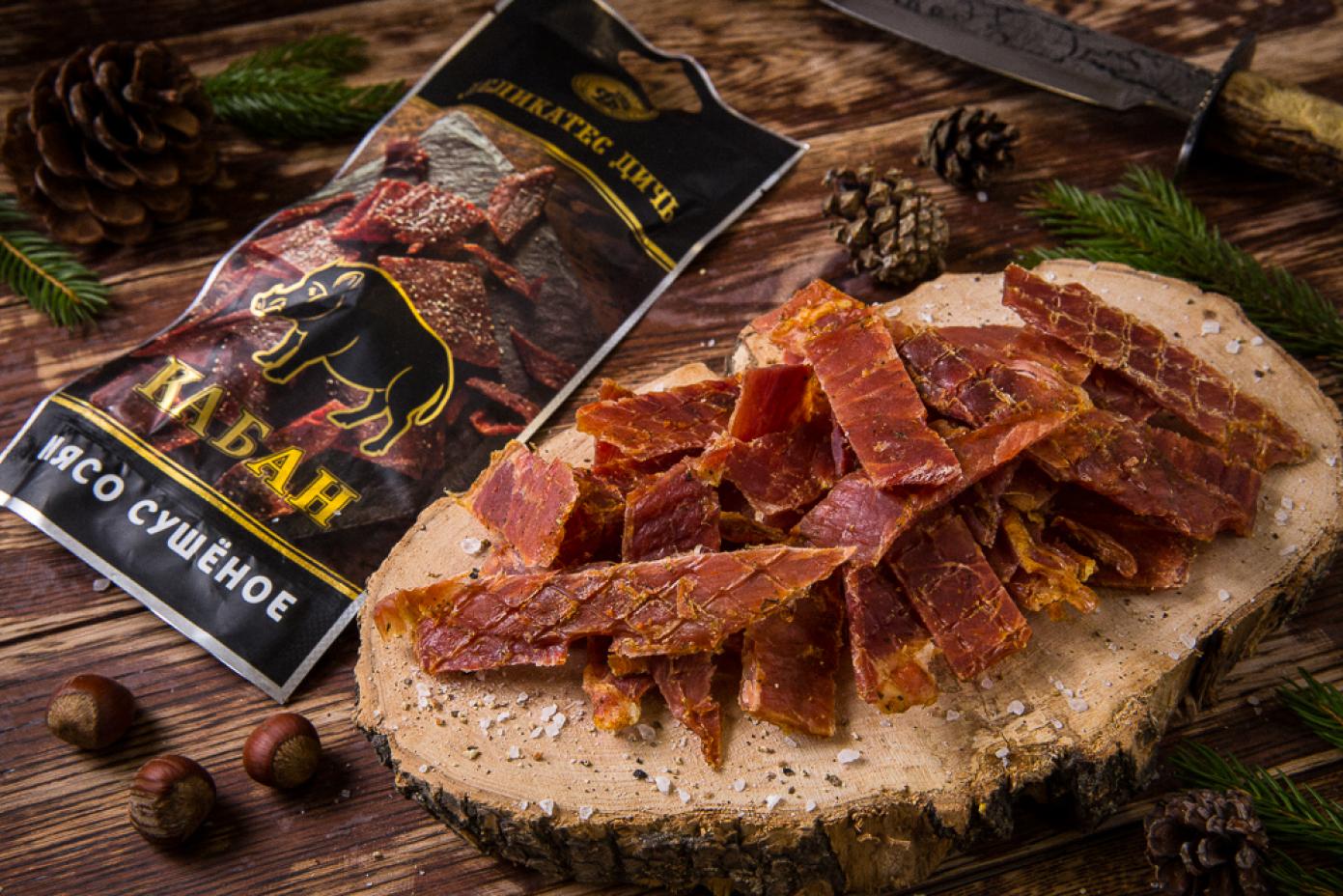 Сушеное мясо Кабана 100г