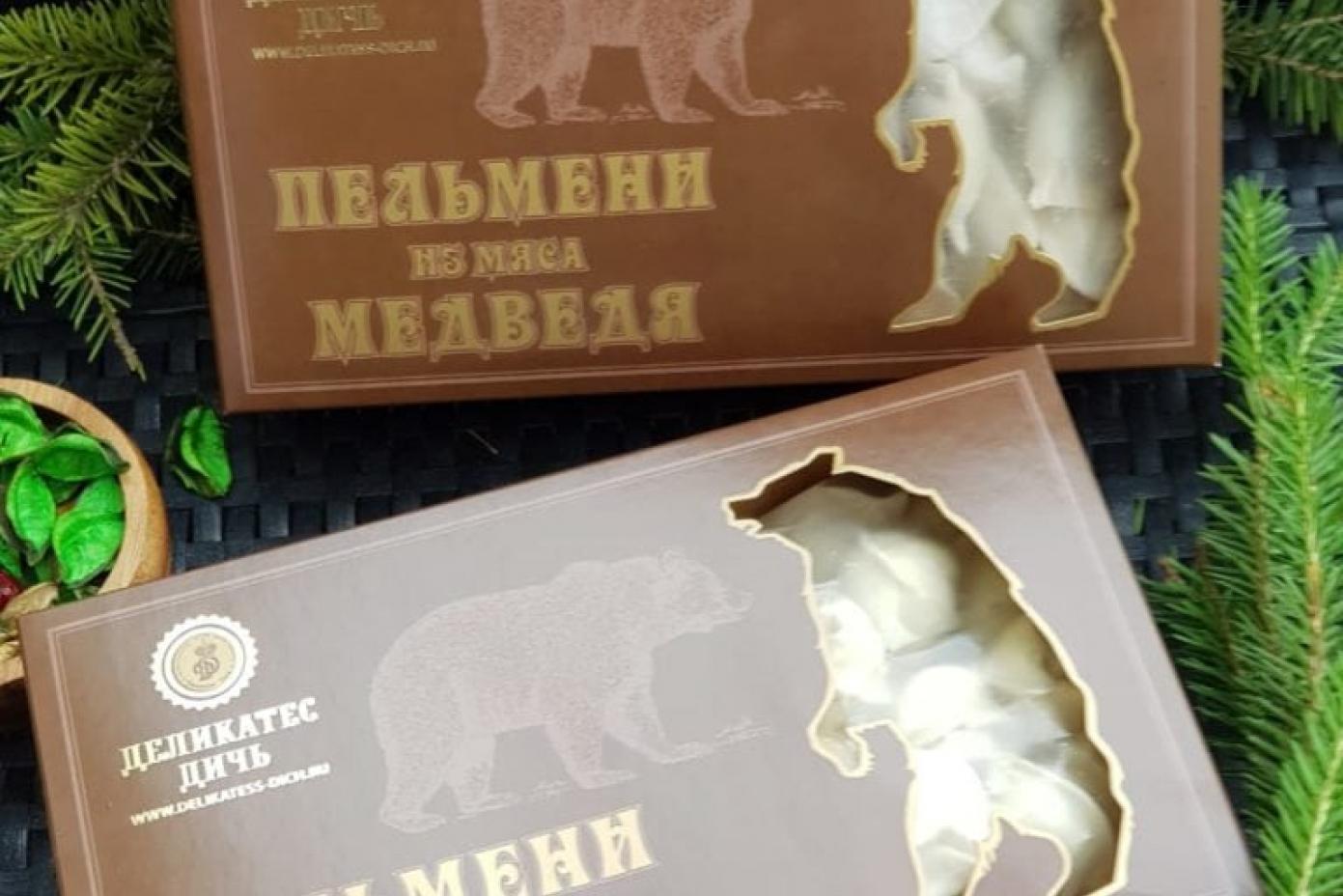 Пельмени из мяса Медведя