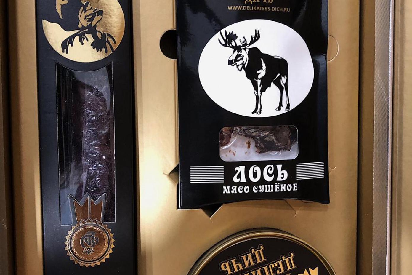 Подарочный набор-шкатулка «Лось»